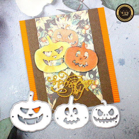 【Original】Halloween Pumpkin Dies