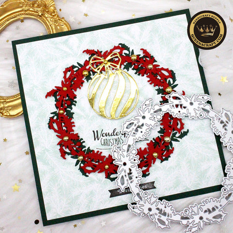 【Original】Christmas Wreath Dies