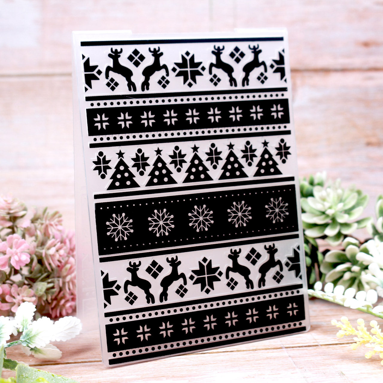Christmas Things EMBOSSING FOLDER