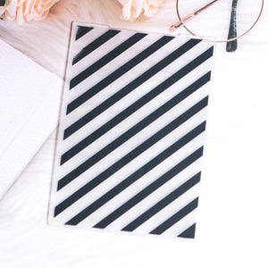 Stripes Embossing Folder