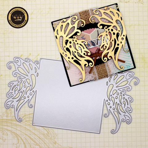 【Original】Butterfly Cover Folding Card Dies