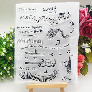 Phonic Notes Stamps