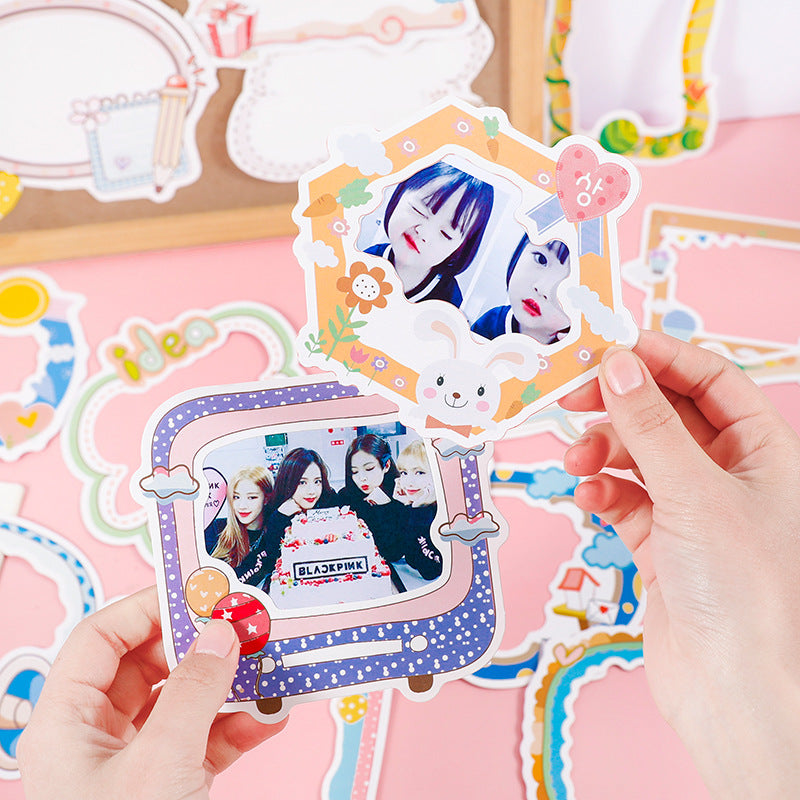 Cartoon Cute Photo Frame Series Stickers