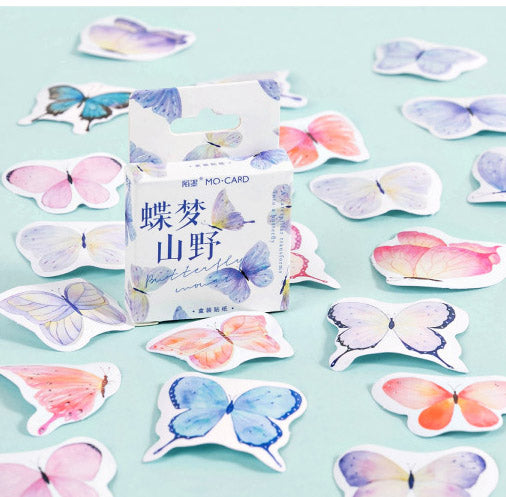 46PCS Butterfly Dreaming Stickers