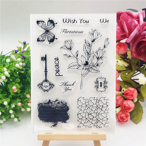 Key Flower Stamps