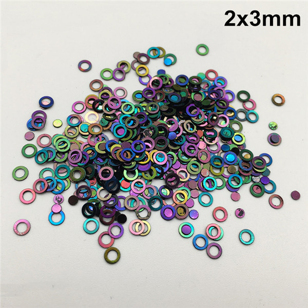 3MM Openwork Polka Dot Sequins