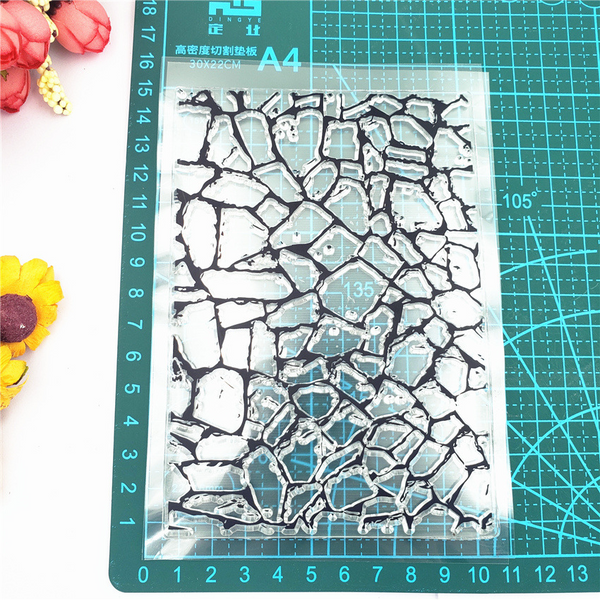 Marble Pattern Background Stamp