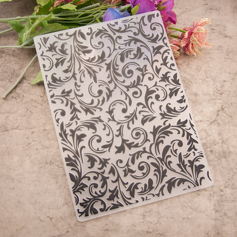 Curved Vine EMBOSSING FOLDER