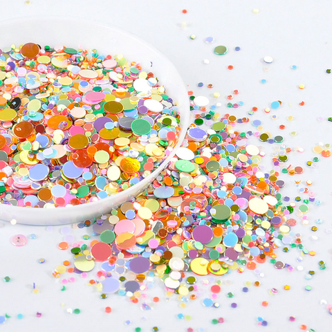 1/2/3/4MM Mix Round Sequins