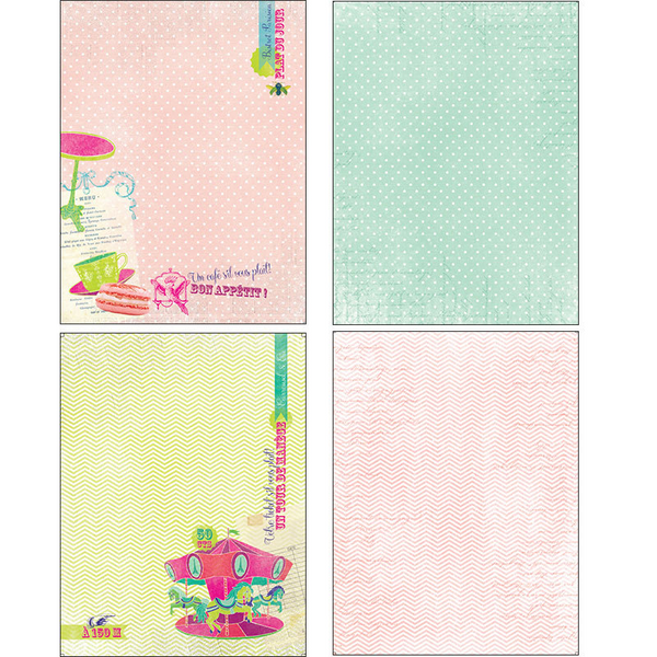 14PC 15*20CM Scrapbooking Paper Pack-Flower