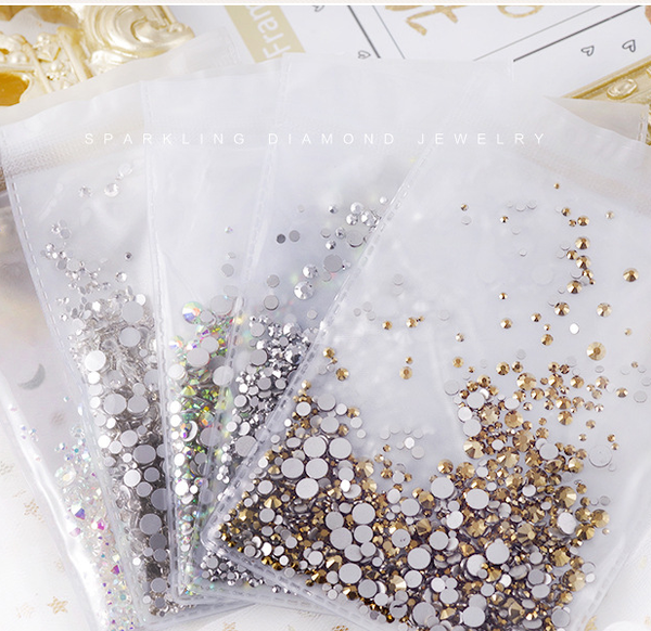 Mixed Decorative Artificial Diamond