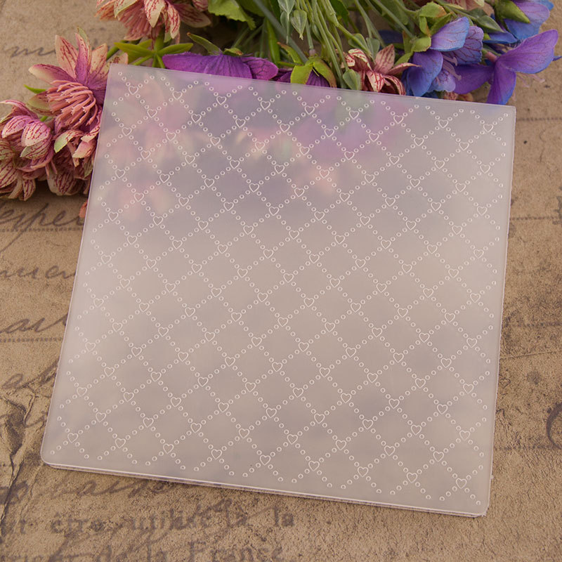Diamond Embossing Plastic Plates