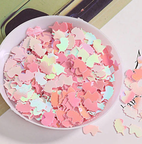 500pcs Unicorn Glitter Sequins