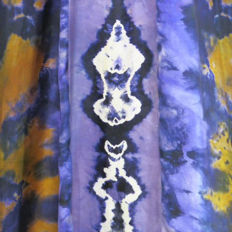 Detail from Marian's dress early 1970s