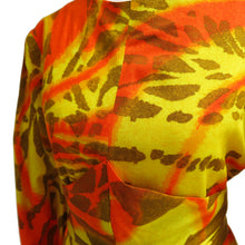 Load image into Gallery viewer, Multi-way 1960s Tropical Print Barkcloth Dress - ShopCurious