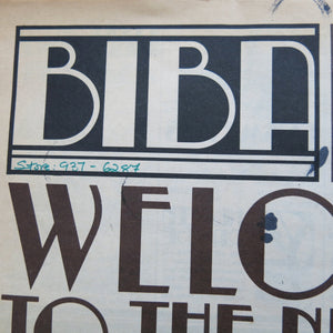 Big Biba Launch Newspaper - ShopCurious