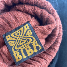 Load image into Gallery viewer, 1960s Biba Two-Tone Wool Jumper – Rust and Brown - ShopCurious