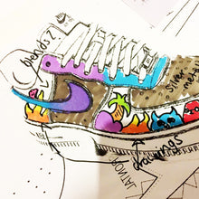 Load image into Gallery viewer, Bespoke Customised Trainer Design - shopcurious