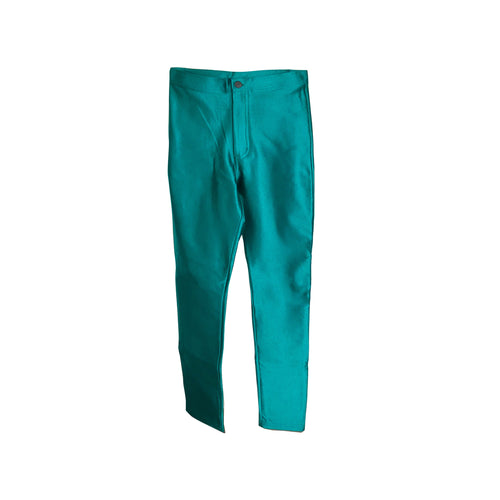 American Apparel Emerald Green Disco Pants - shopcurious