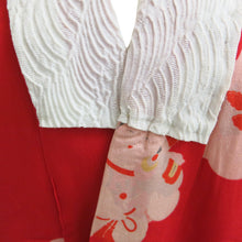 Load image into Gallery viewer, Happy Baby Red Vintage Kimono - shopcurious