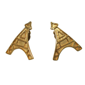 Eiffel Tower Earrings – Vintage YSL - shopcurious