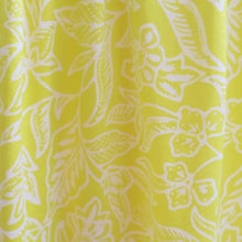 Load image into Gallery viewer, Printed Yellow Silk Spaghetti Strap Sundress - ShopCurious