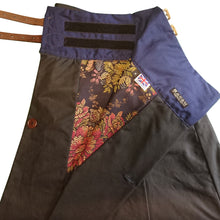 Load image into Gallery viewer, Luxurious Blue: Hand-Tailored Wax Cotton Riding Skirt - shopxcurious