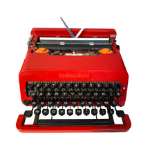 Load image into Gallery viewer, Olivetti Valentine Red Vintage Typewriter - ShopCurious