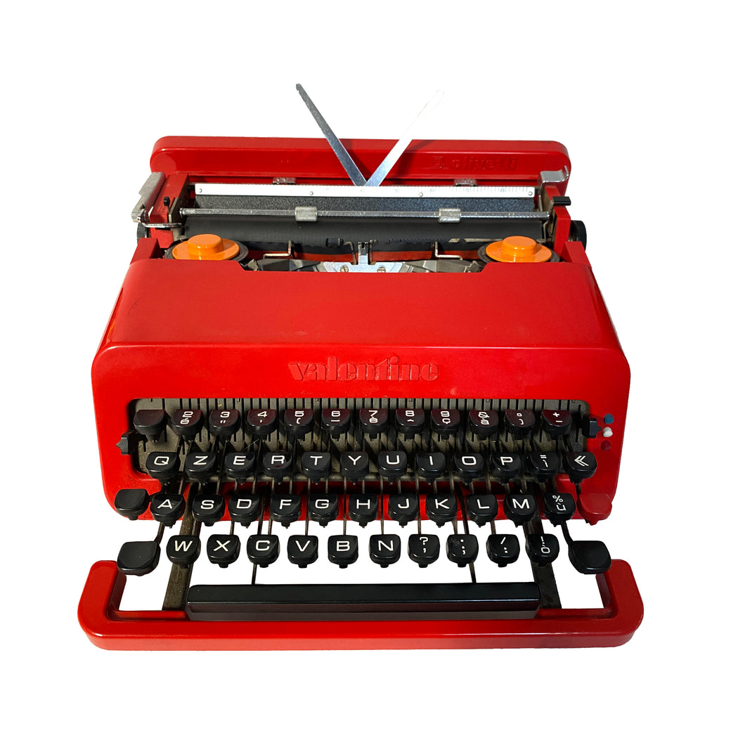 Olivetti Valentine Red Vintage Typewriter - ShopCurious
