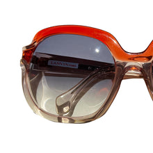 Load image into Gallery viewer, Lanvin Vintage Red and Clear Perspex Sunglasses - shopcurious