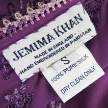 Load image into Gallery viewer, Jemima Khan Beaded and Embroidered Halter Neck Dress - shopcurious