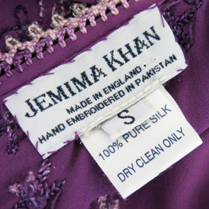 Jemima Khan Beaded and Embroidered Halter Neck Dress - shopcurious