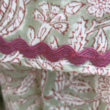 Load image into Gallery viewer, Block Printed Tiered Long Dress by Neve and Noor - shopcurious