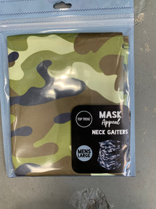 Mask neck Gaiters up to adult Men