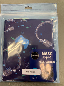 Mask neck Gaiters  13+