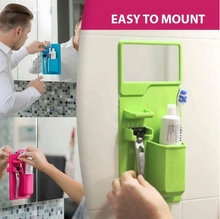 Load image into Gallery viewer, Silicone Bathroom Organizer Set