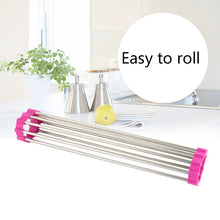 Load image into Gallery viewer, Roll-Up Dish Drying Rack