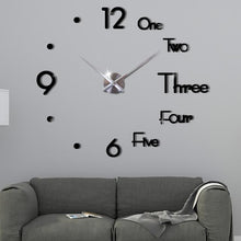 Load image into Gallery viewer, 3D Modern Wall Clock