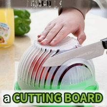 Load image into Gallery viewer, Kitchen Salad Cutting Bowl