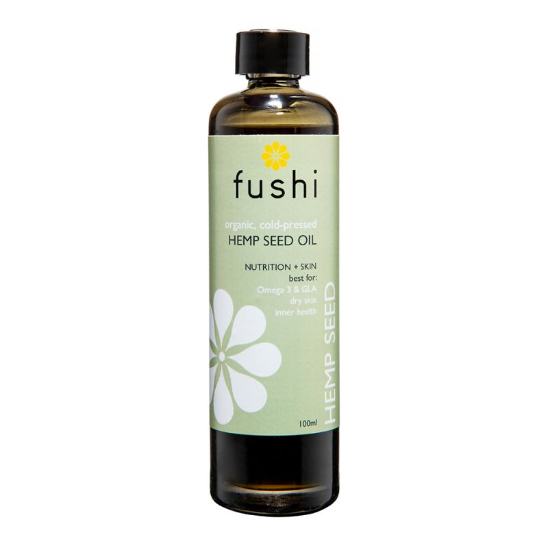 fushi Hemp Seed Organic Virgin Oil Fresh-Pressed 100ml
