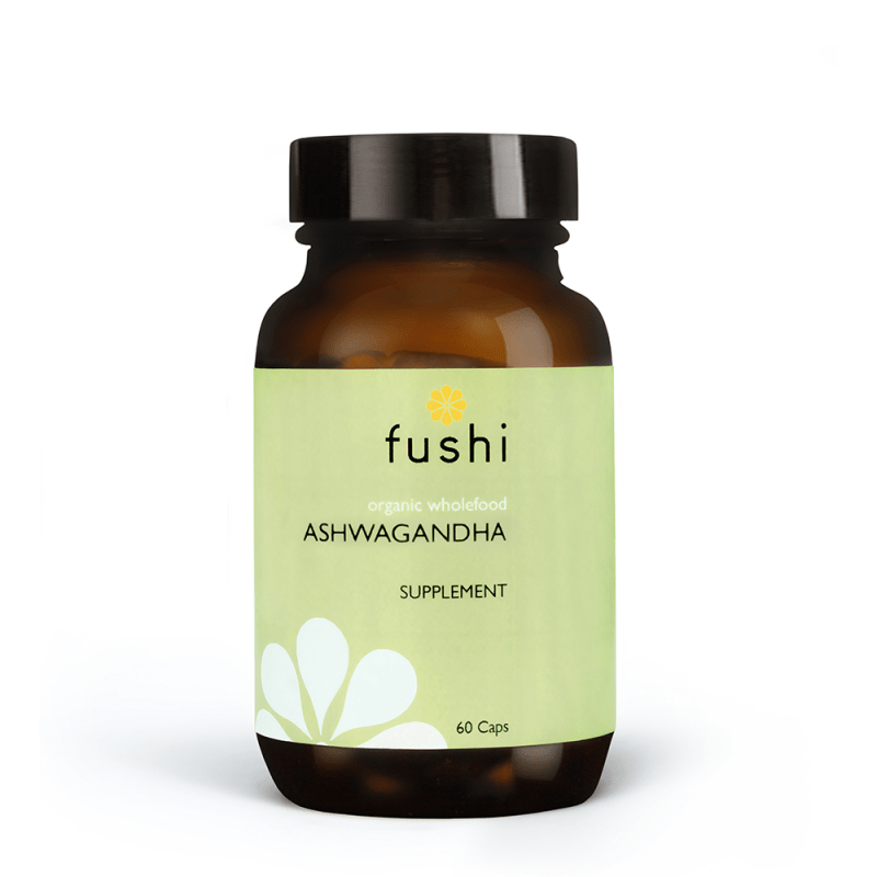 Fushi Ashwagandha Capsules Organic Fresh-Ground® 60 CAPS