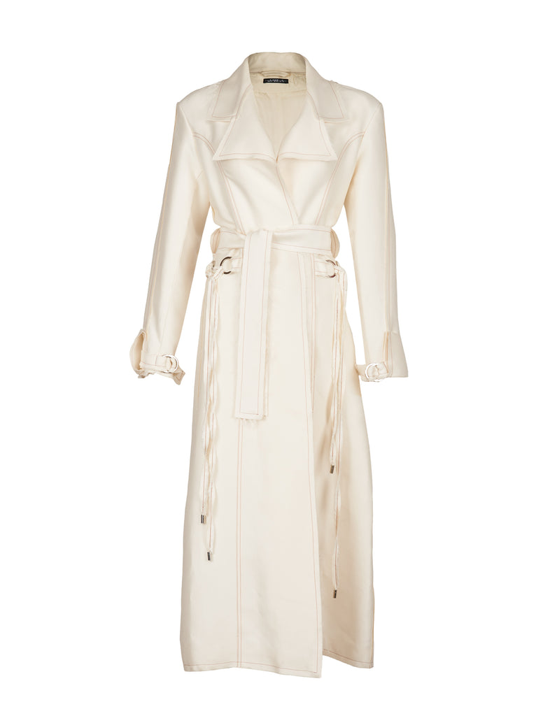 Lauren Silk Coat