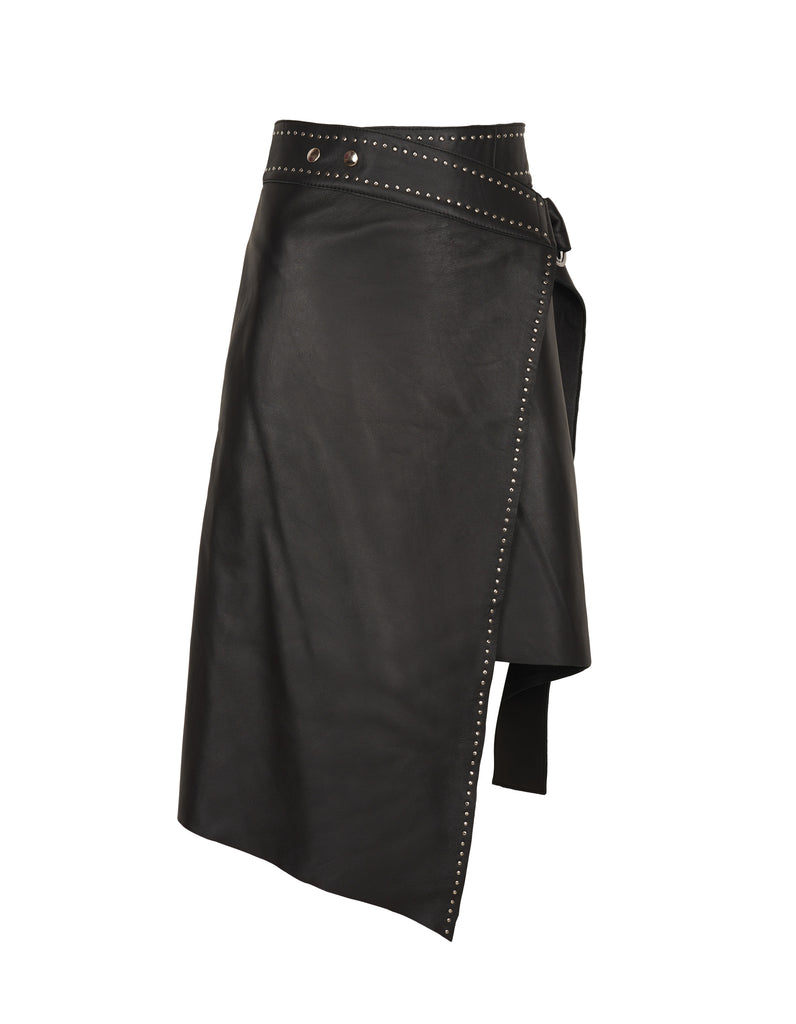 Helena Leather Skirt