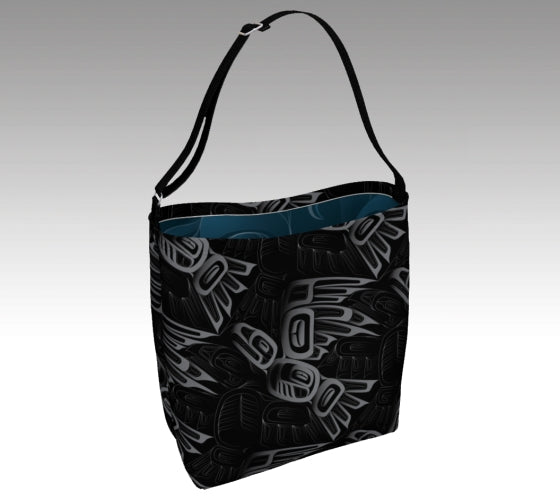 Eagle & Raven Tessellation  Tote