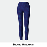 Blue Salmon Leggings