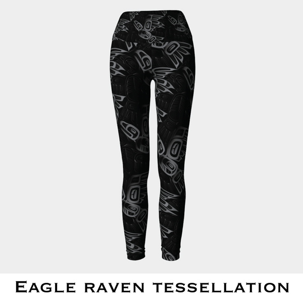 Eagle and Raven Tessellation Leggings