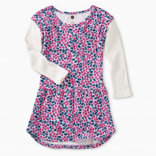 Girl's Blueberry Pocket Dress