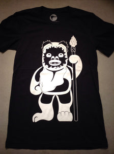 Youth Ewok Tee - Black/White