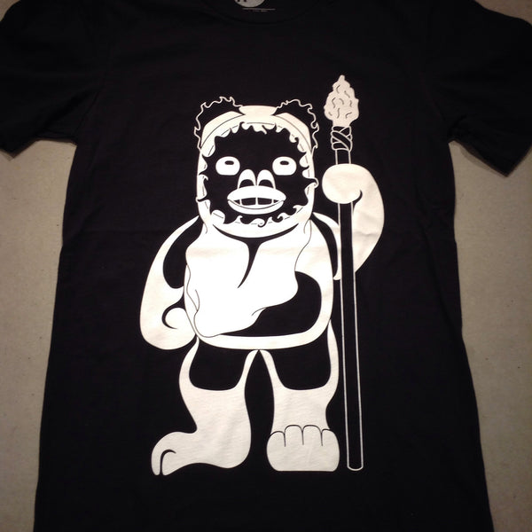 Ewok Tee - Black/White