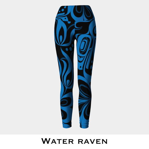 Water Raven Leggings
